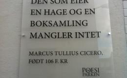 Sitet Marcus Tullius Cicero
