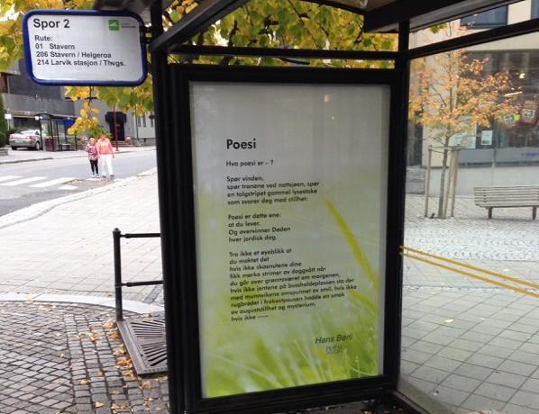 Bilde Poesi Hans Børli